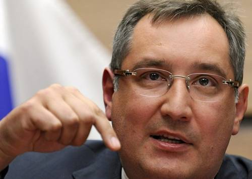 Russian Ambassador to NATO Dmitry Rogozin