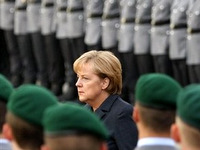 "Last November German Defense Minister Jung laid the foundation stone for ""the first national memorial to soldiers killed serving in the country's post-World War II military."""