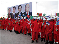 China president officially opened the Turkmenistan-China gas pipeline