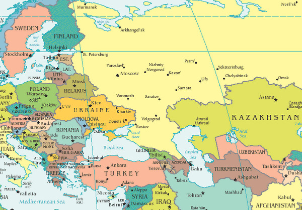 map of eastern europe. Eastern Europe map. Soft Power