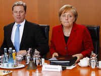 /German Chanceller Angela Merkel has defended the bailout