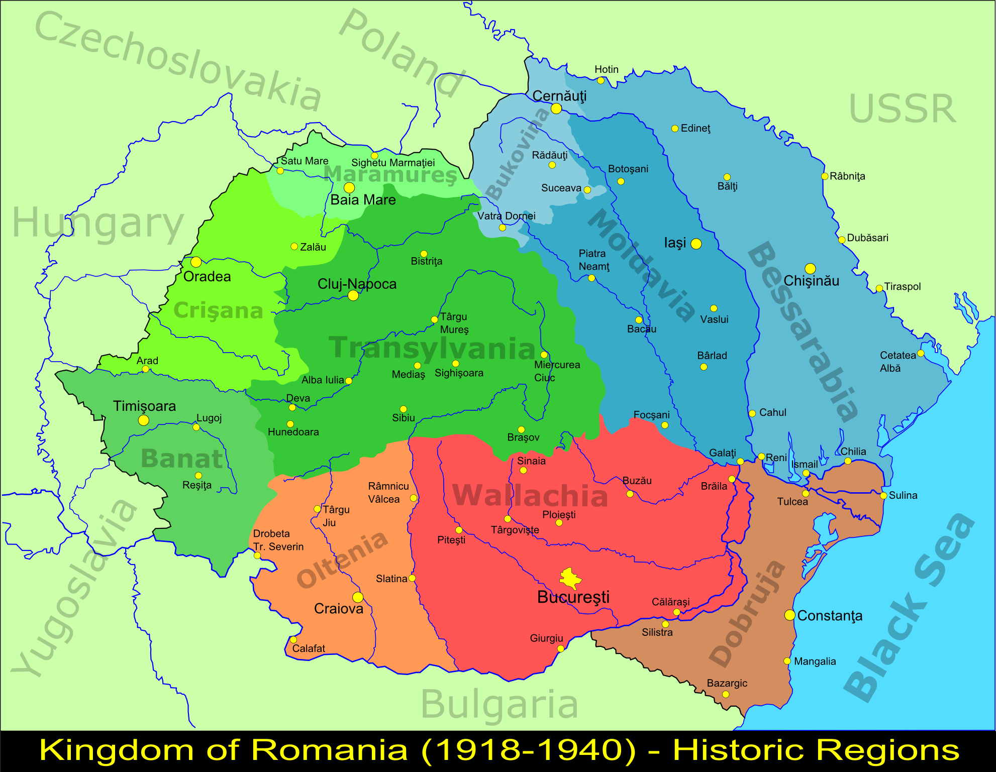 Greater-Romania-Historic-Regions