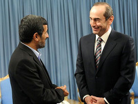 Iran-s-President-Mahmud-Ahmadinejad-meets-with-former-Armenian-President-Robert-Kocharian-in-Tehran-on-January-21