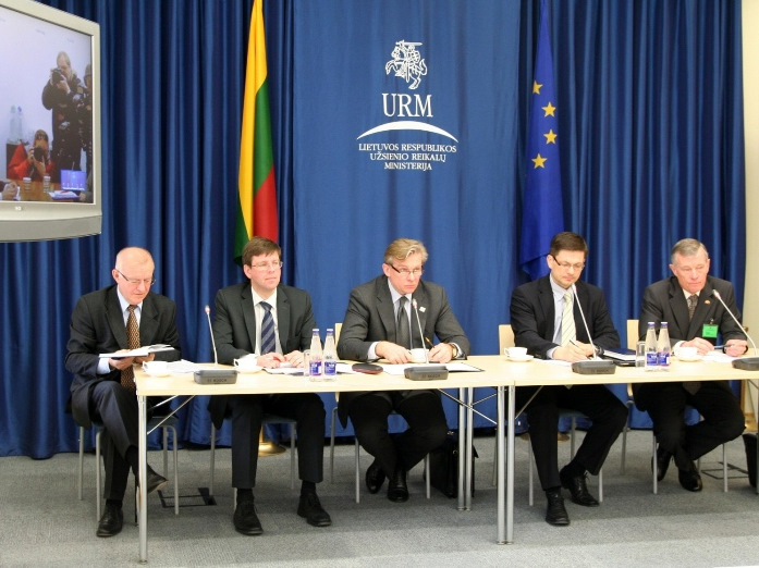LITHUANIAN AND NORWEGIAN FOREIGN MINISTERS DISCUSSED BILATERAL AND REGIONAL COOPERATION AT A TELECONFERENCE