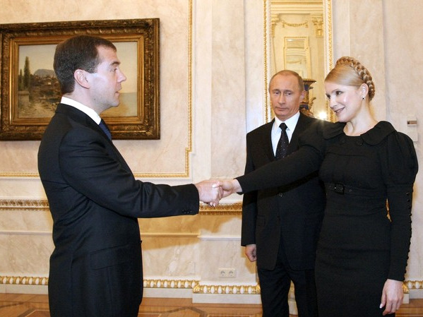 Medvedev Suppressed Putin and Timoshenko