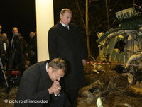 The air crash in Smolensk may have improved Polish-Russian relations