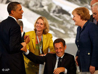 he G 8 leaders found common ground on Iran